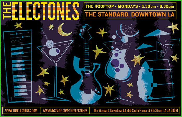 The Electones at the Standard Hotel Rooftop